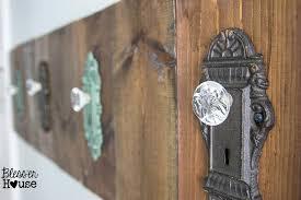 How To Make Coat Rack With Door Knobs Enchanting Door Knob Shelf Door Knobs