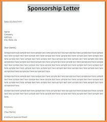 Event Sponsorship Letter Amazing Letter Requesting Event Sponsorship Poemsromco