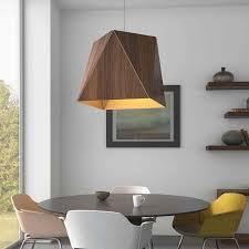 wood pendant lighting. Cerno Calx Large Pendant Light | YLighting Wood Lighting
