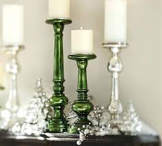 gold mercury glass pillar candle holders candlestick champagne