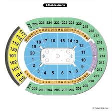 T Mobile Arena Las Vegas Nv Seating Chart View