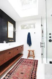 Oversized Bathroom Rugs Before And After Client Freakin Fabulous Amber Interiors