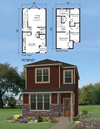 house glamorous houses for small lots 21 affordable home plan design narrow land trendration designs cottage lot two y plans