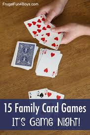 15 card games that are perfect for your