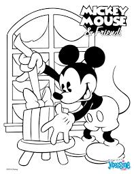 Coloriage Mickey Noel En Ligne L