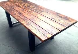 metal and wood dining table dining table iron legs dining table wood and metal reclaimed wood