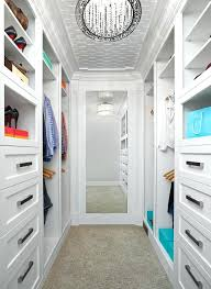 small walk in closets small walk in closet idea with bottom to top mirror luxurious pendant small walk in closets ideas