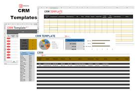 Crm Excel Template For Business Client Tracking Spreadsheet
