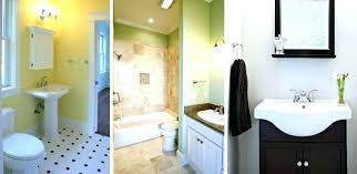 Small Bathroom Remodel Cost How Much The To Redo Diy Bathro