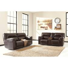 Reclining Living Room Set Ashley Furniture Barrettsville Durablend Reclining Livingroom Set