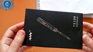 <b>TS100 65W Digital</b> OLED Programmable Soldering Iron-Gearbest ...