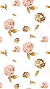 Rose Gold Flower iPhone Wallpaper (Page ...