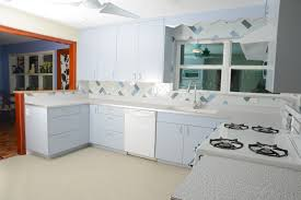 Old Kitchen Renovation How Our Contemporary Kitchen Renovation Went Jetsons Retro