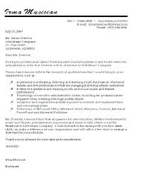 Examples Of A Professional Cover Letter Change Of Career Cover