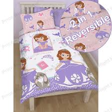 Sofia The First Bedroom Accessories Disney And Character Single Duvet Cover Sets Kids Childrens