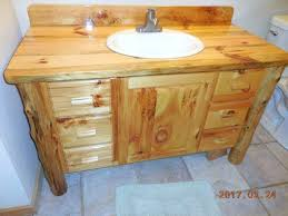 Rustic pine bathroom vanities Homemade Pine Bathroom Vanity Pine Bathroom Vanity Stylish Knotty Pine Vanity Hand Made Knotty Pine Bathroom Vanity Visitavincescom Pine Bathroom Vanity Pine Bathroom Vanity Stylish Knotty Pine Vanity