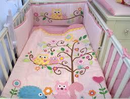 nursery bedding for girls owl