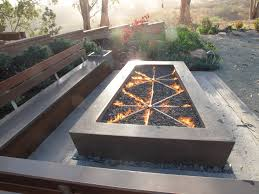 garden furniture patio uamp: cheap withgt outdoor fire pit table patio craftsman with backyard retreat cast concrete fire pit concrete fire pit concrete patio fire