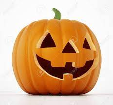 Halloween Pumpkin With A Funny Smiling Face. 3D Illustration. Stock Photo,  Picture And Royalty Free Image. Image 120536029.