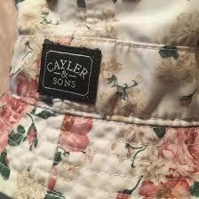 Оригинальная <b>панама Cayler & Sons</b> с цветами – купить в Москве ...