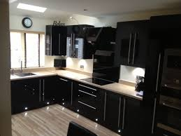 best kitchen designs. Black Hi-Gloss Acrylic Kitchen Best Designs