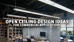 Open ceiling lighting Ceilings Design Open Ceiling Lighting Design Ideas For Commercial Applications Lbc Lightingblog Community Lbc Lighting Open Ceiling Lighting Design Ideas For Commercial Applications Lbc