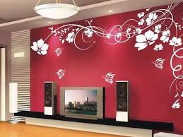 Small Picture Wallpaper Wall Designs Home Design Ideas