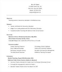 Resume Student Template Best Resume Examples For Students Student Templates Doc Free Premium