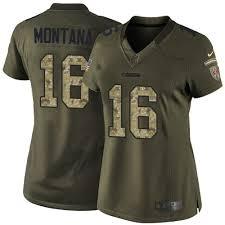Joe Montana Jersey Women's 49ers