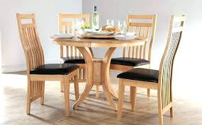 round wooden dining table sets dining table with white chairs round wooden table and chairs traditional