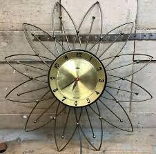 lux starburst atomic wall clock