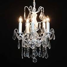 5 branch french small antique le white ceiling light chandelier