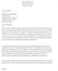 Graduate Cover Letter Examples Nurse Graduate Cover Letter Cover Letter For New Graduate Nurse