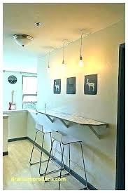 charming wall breakfast bar bar against wall kitchen breakfast bar wall table wall mounted breakfast bar