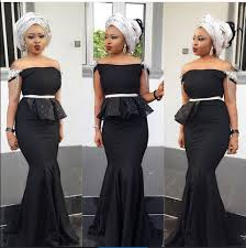 Beautiful Long Gown Styles For Wedding Guests Fashionstyle Ng