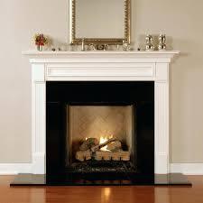 black granite fireplace surround honed