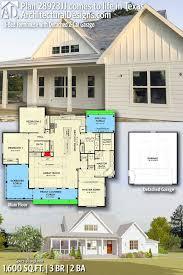 Mini Farm House Design Plan Farmhouse Detached Garage Gorgeous Small Country Cabins
