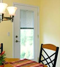 Floor Stylish Single Patio Door With Built In Blinds 0 Astonishing