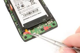 motorola droid razr battery. cracking open droid razr maxx: removing the battery connector cover motorola k