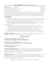 Chemist Resume Cover Letter Chemist Resume Peachy Best Example Page