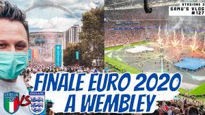 FINALE EURO 2020 a Wembley IMBUCATO allo stadio in mezzo agli inglesi -  YouTube