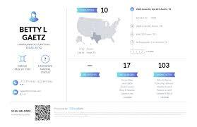 Betty L Gaetz, (713) 975-9163, 2603 Jones Rd, Austin, TX   Nuwber
