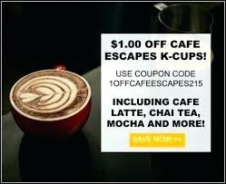 cafe escapes vanilla reviews k cups latte coffee count gluten free