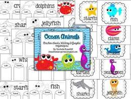Ocean Animals Anchor Charts Graphic Organizers