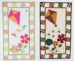 Playful Textures for Easy Appliqué Quilts | Kites, Quilts online ... & Kite Quilt Adamdwight.com