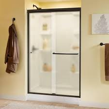 beautiful delta shower doors home depot simplicity 60 in x 70 semi frameless sliding door