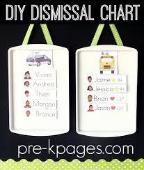 Dismissal Chart Diy Magnetic Dismissal Chart
