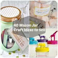 Ways To Decorate Glass Jars 100 Mason Jar Crafts Ideas To Make Sell 41