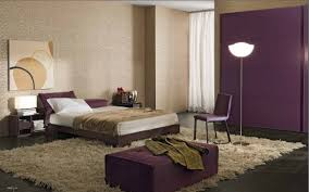 Image of: bedroom ideas purple and brown