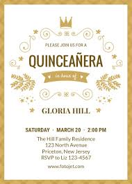 Invitations Quinceanera Design Your Own Quinceañera Invitations Online Fotojet
